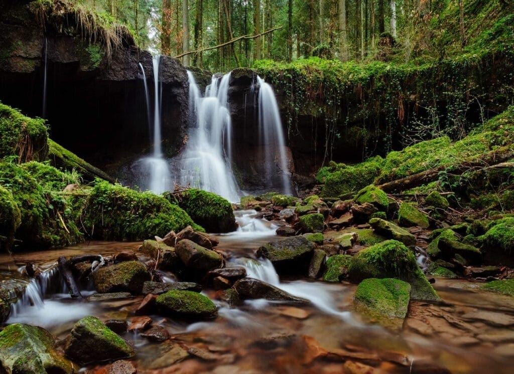 Schöne Landschaftsfotos können überall aufgenommen werden.