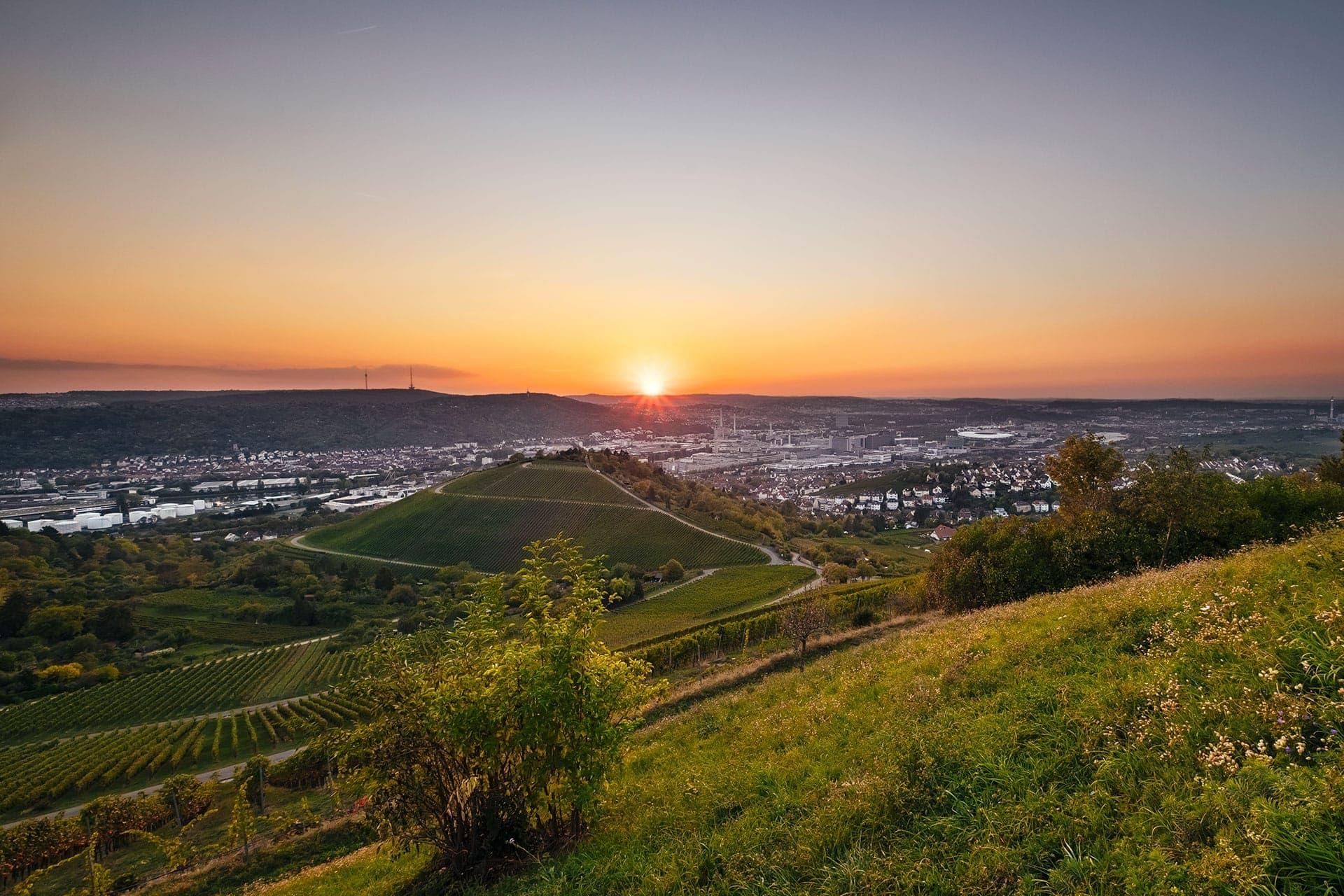 Landschaftsfotos aus Stuttgart